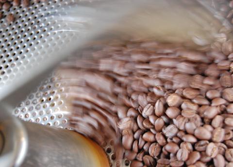 おうちで「珈琲のある生活。」にも本日焙煎したパナマの珈琲豆をお求めでした。感謝。