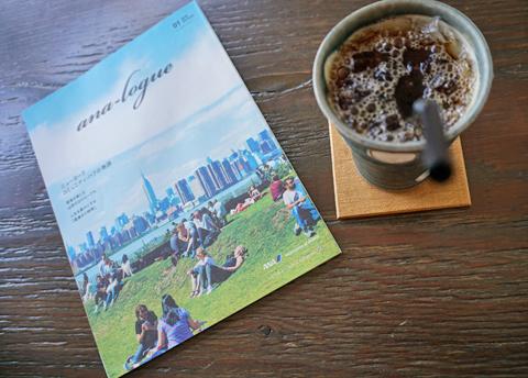 ニューヨークで野外の「珈琲のある休暇。」があってもいい↑。