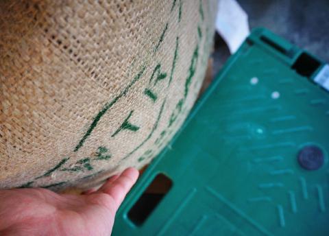 インドネシアをゆーあに運ぶほんの数秒だけで汗だくになりました…。