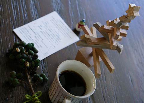 クリスマスツリーのワークショップをゆーあでもご案内っ↑。