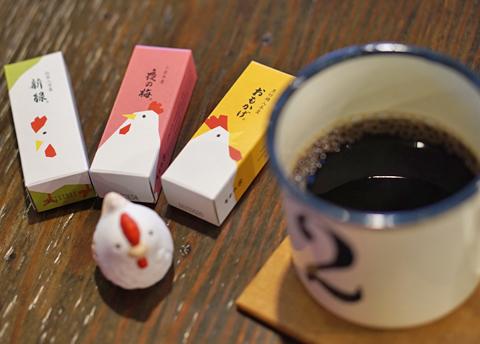 TOYAYA TOKYOの羊羹がとらの年もある。答えはまるっ!!…。