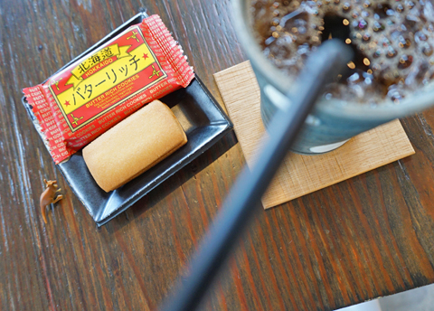 紳士はさすがに北海道で「Ice珈琲のある休息。」は過ごさない!?…。