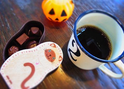 珈琲&チョコレートの好季節到来です。雨があがれば一段と寒くなるのでしょうか?