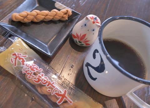 日本史のお勉強。麦縄菓子は珈琲の伝播よりもかなーり古い(笑)…。