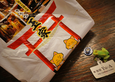 こんこん、こんこん。今宵の日本酒のあては串カツとどてでーす(笑)。