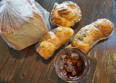 「珈琲のあるお開き。」にパンの登場は早すぎる!?…。