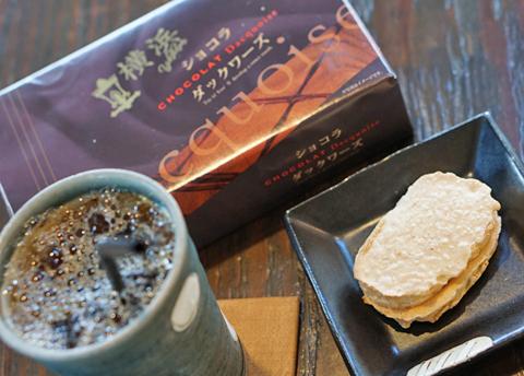 やがてショコラの相棒がHot珈琲となるでしょう。←天気予報より的確です!!…。