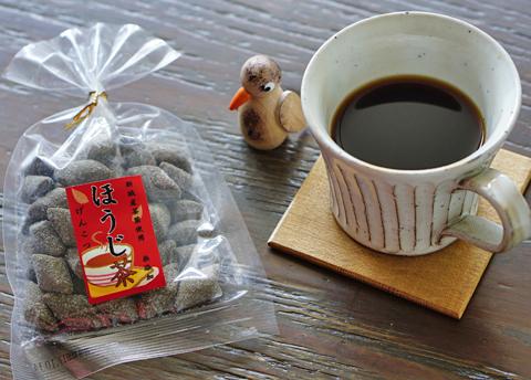 ほうじ茶と珈琲をがぶがぶしたおやつどきではありません(笑)…。