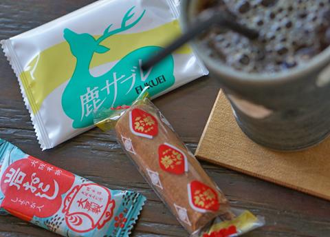 「Ice珈琲のある休息。」に奈良のお土産が登場です。ウガンダのそれではありません。