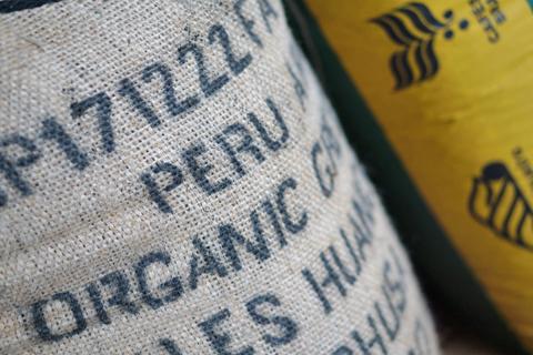 ペルーの珈琲豆