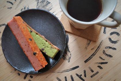 抹茶のスティックケーキ
