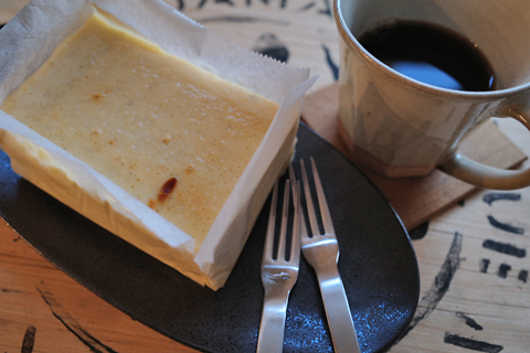 スイーツ紳士の手作りチーズケーキ