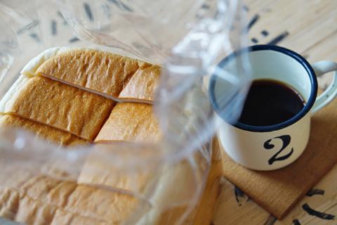 うずらベーカリーの食パン